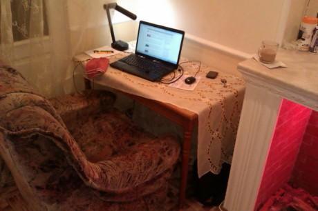 рабочее место блоггера wlad2 2012 со светом